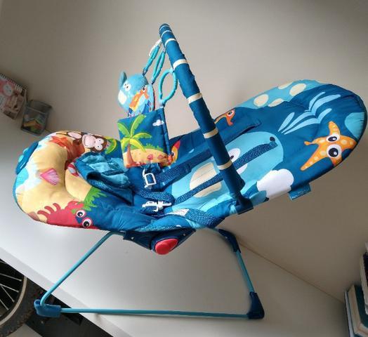 Cadeira de descanso musical vibratória Multikids