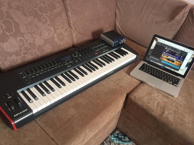 Controlador e macbook