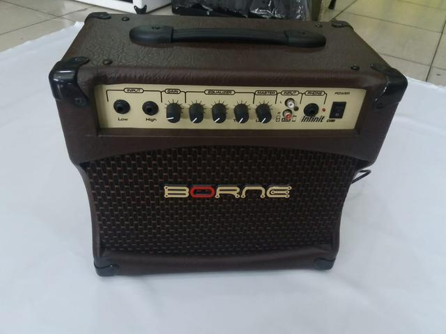 Cubo de violão Borne CV Infint amplificador