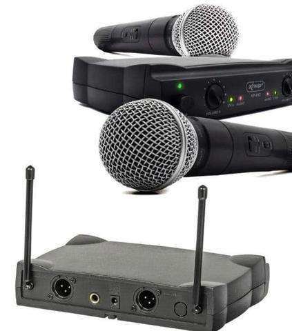KIT Microfone Sem Fio KNUP