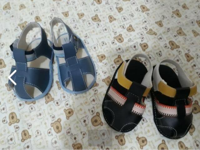 Lote de 6 pares de calçados para menino