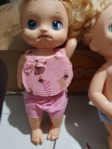Lote de bonecas baby alive, originais, para conserto