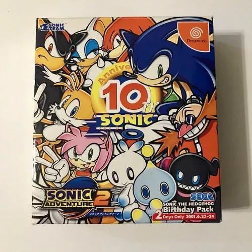 Sega Dreamcast - Sonic Adventure 2 10th Anniversary Edition