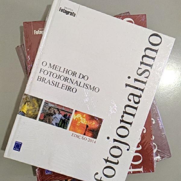 kit 03 livros: o melhor do fotojornalismo brasileiro