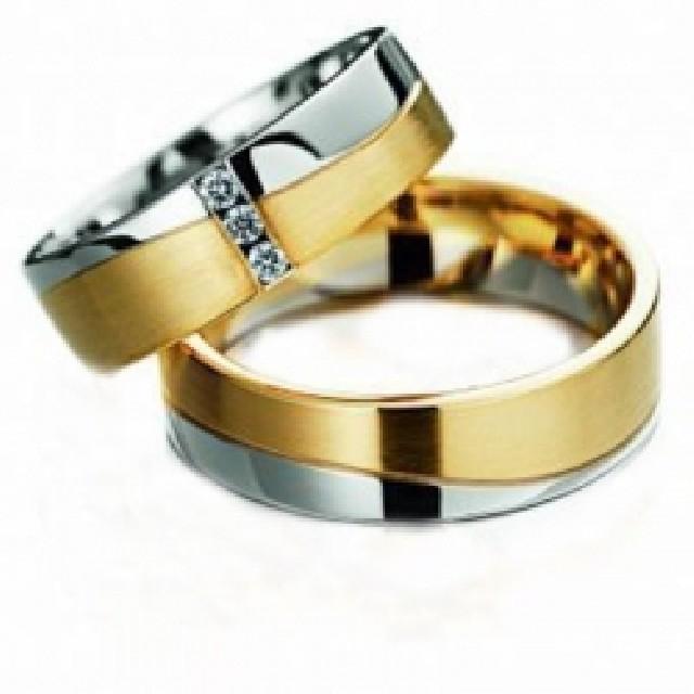 Alianças em ouro 18kl na oliver jóias