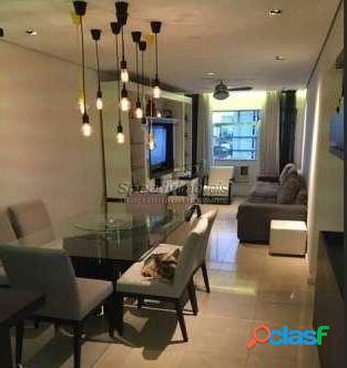Apartamento em Santos 2 dormitórios, Campo Grande.