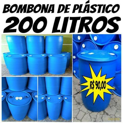 Bombona 200 Litros / Tambor / Galão / Tonel / Reservatório