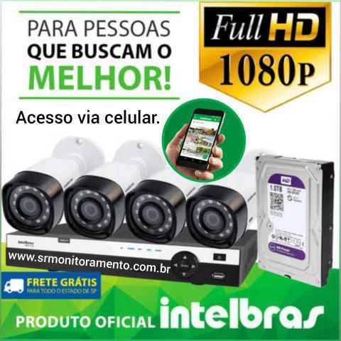 Câmeras de segurança em Full HD Intelbras