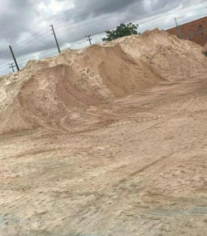 Disk areia brita tijolo