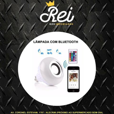 Lâmpada de led Music Bulb RGB com alto falante com