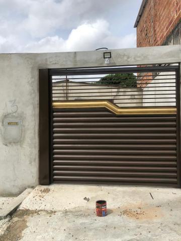 Portões de Garagem Galvanizado na Promoção