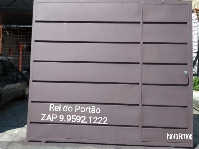 Portão Bom Barato e Rapido - Qualidade e otima condição -