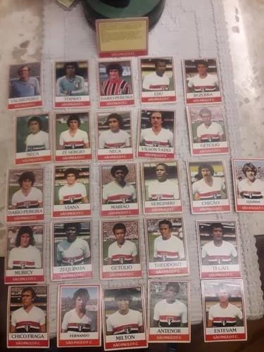 São Paulo Fc - 26 Cards Ping Ping- Anos 70 - Coleção