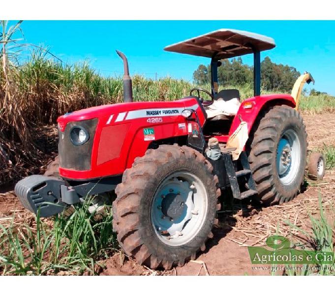 Trator Massey Ferguson 4265 4x4 (Apenas 1.200 Horas!)