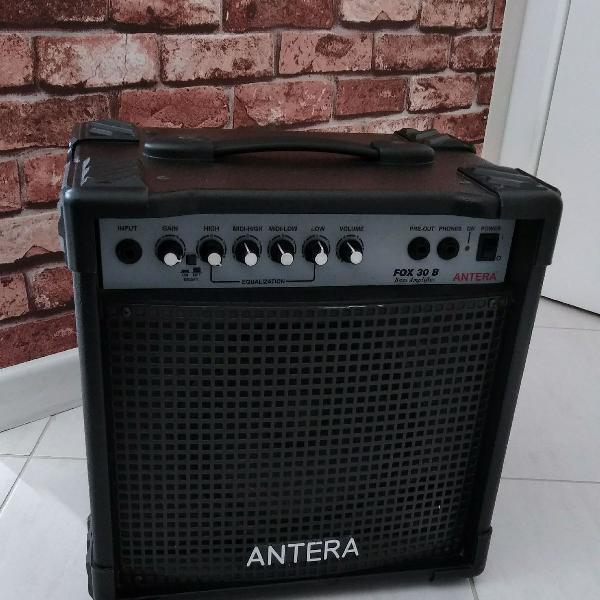amplificador para contrabaixo antera
