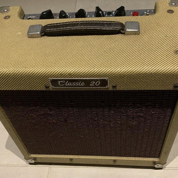 amplificador peavey classic 20 - usado