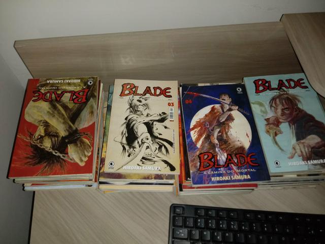 Blade, a lâmina do imortal - Mangá