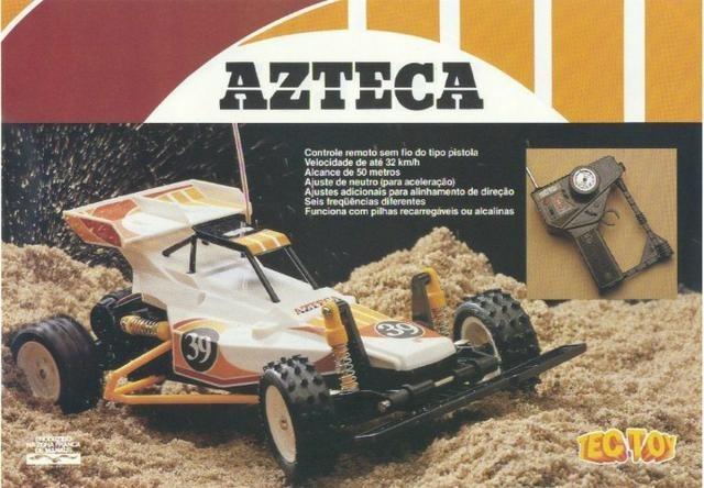 Carro De Controle Remoto Azteca Tec Toy