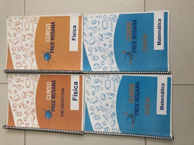 Livros curso Prof. Rosana (Enem e particulares de medicina)
