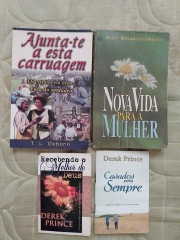 Livros de diversos autores