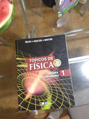 Livros tópicos de física Vol 1,2,3