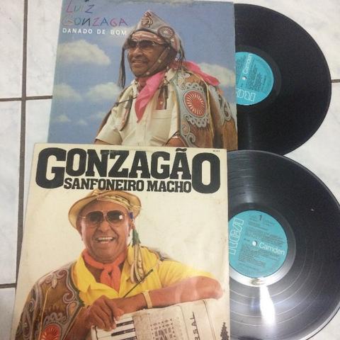 Lote 2 discos de vinil Luiz gonzaga forró