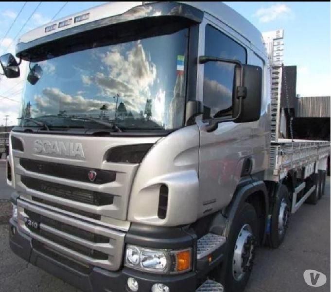Scania p310 Bitruck 8x2 2018 impecável