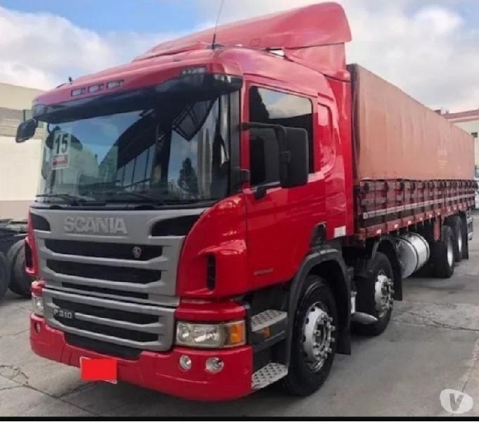 Scania p310 bitruck graneleiro 8x2