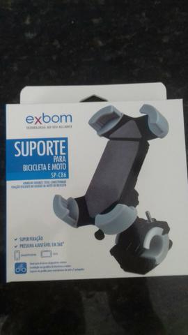 Suporte de Smartphone para Bicicletas e Motos - Exbom -