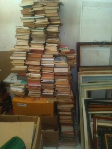 Vendo lote aproximadamente 1500 livros, maioria antigos e