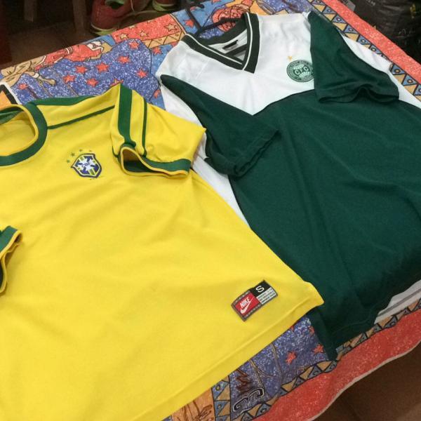 camisetas de times e seleção