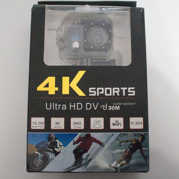câmera de ação 1080p full hd / 4k
