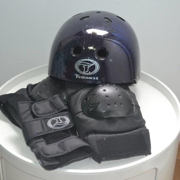 kit de segurança para esportes patins