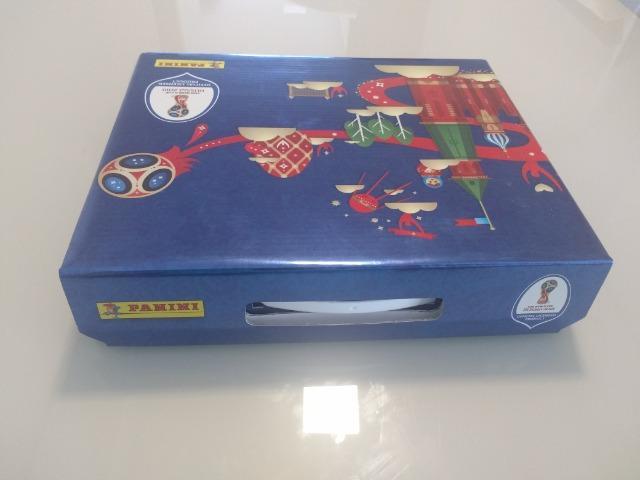 lbum Copa 2018 (Box + álbum capa dura + 682 fig para