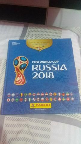 lbum copa do mundo 2018 em capa dura