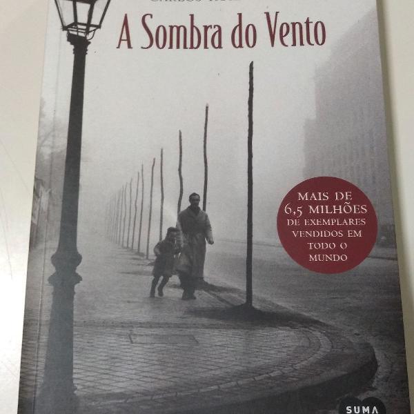 A sombra do vento - Carlos Ruiz Zafon