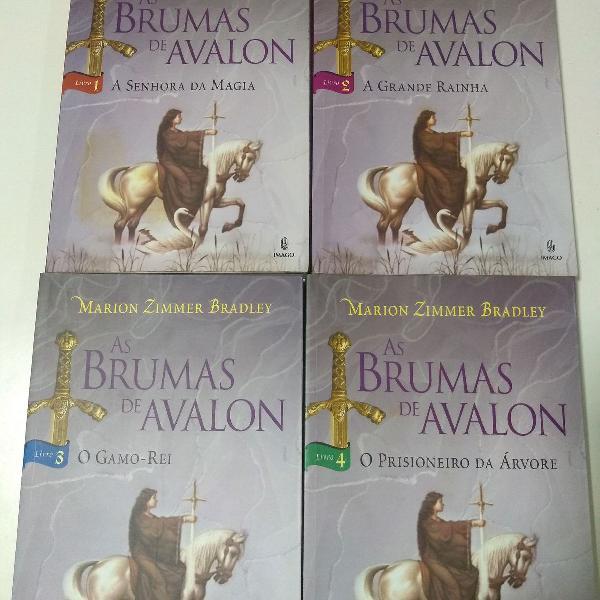As bruxas de Avalon - autor Marion Zimmer Bradley, vol 1, 2,