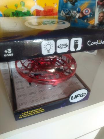 Drone UFO Candide Carregador USB Lançamento Candide Cor