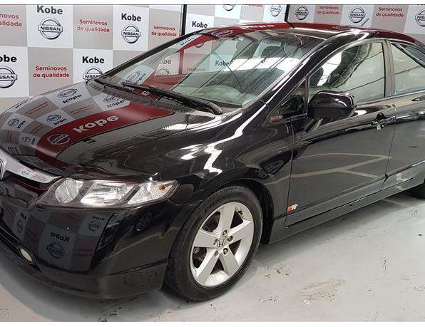 HONDA Civic Sedan LXS 1.8/1.8 Flex 16V Aut. 4p Flex -