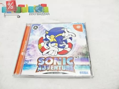 Jogo Sonic Adventure Sega Dreamcast Original Japonês Oferta