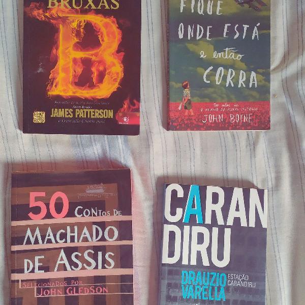 Kit 4 livros