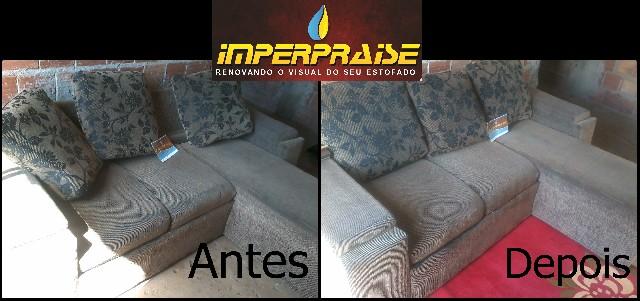 Lavagem a seco e impermeabilização de sofás