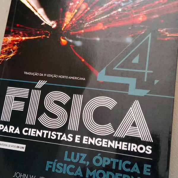 Livro novo de Física 4 para cientistas e engenheiros