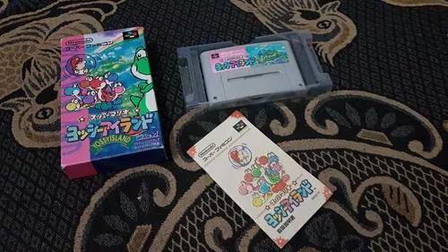 Super Mario World 2 Yoshi's Land Japonês Para Snes V2