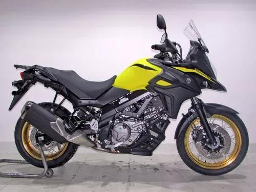 Suzuki V Strom 650 Xt Abs 2020 Amarela