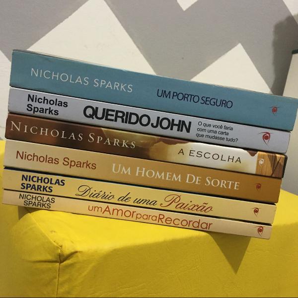 coleção de livros nicholas sparks