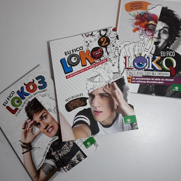 kit eu fico loko - coleção completa
