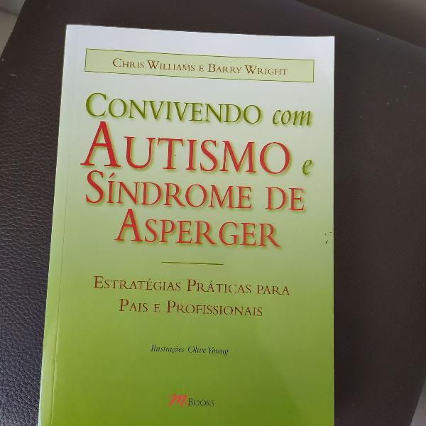 livro convivendo com autismo e síndrome de asperger.