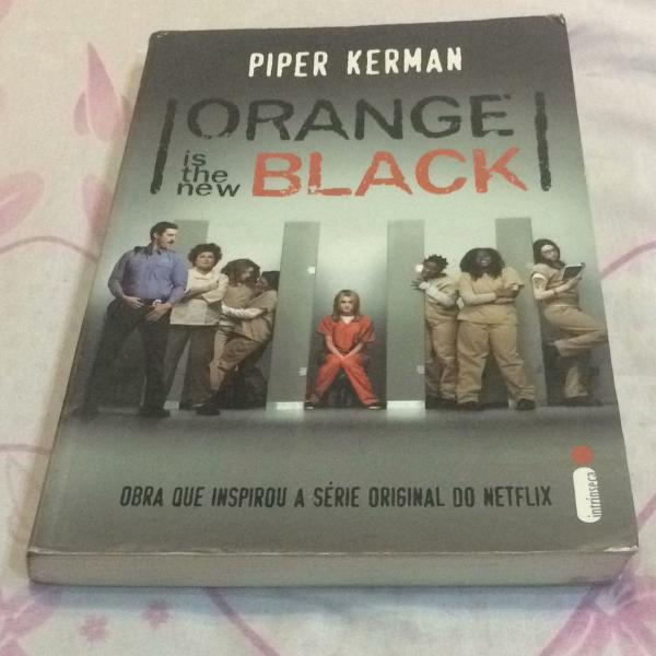 livro da série orange is the new black