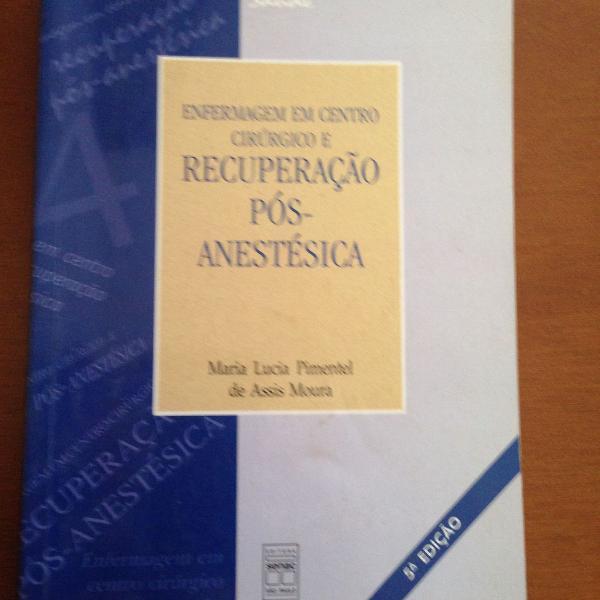 lote livros de enfermagem senac